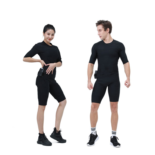 Wireless EMS Training Suit for fitness EMS Vest ElectroStimulation  Training Machine With EMS Suit