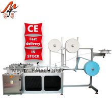Semi Auto Ear Loop Tie On masks Machinery