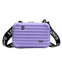Сумка-мессенджер через плечо женская модная Мобильная Сумка сумка на плечо Дамский багаж коробка форма сумка через плечо 16 цветов AELNN486(Китай)