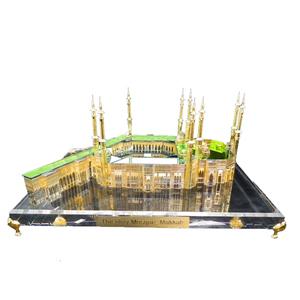 New design mini 3d crystal Mecca building scale models JB001L