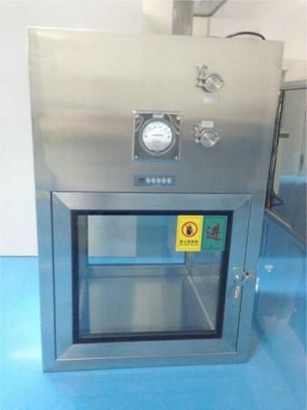 Stainless steel GMP pass through box, Laminar flow Dynamic pass box