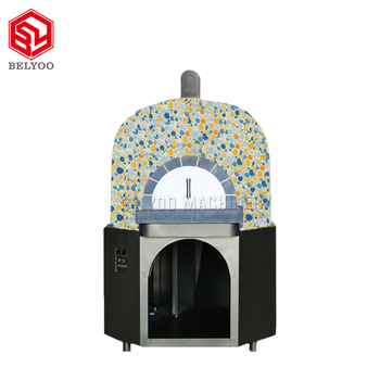 Commercial Electric Gas Stone Baked Wooden Fire Pizza Oven