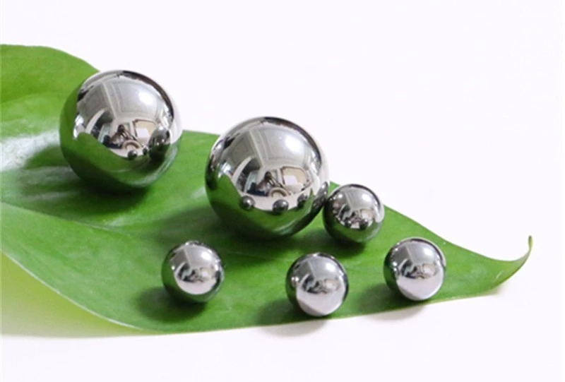 3mm 6mm 8mm 12mm 24mm Solid ROHS ISO9001SGS Certifications G100 AISI 304 316 grinding stainless steel ball for bearings