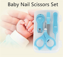 Blau <span class=keywords><strong>baby</strong></span> nagel clipper set Edelstahl kinder <span class=keywords><strong>Baby</strong></span> Nagel Clipper Neugeborenen <span class=keywords><strong>Baby</strong></span> Pflege Kit Nail Clipper <span class=keywords><strong>Sicherheit</strong></span> Pflege set