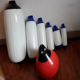 A and F Series PVC inflatable dock buoy