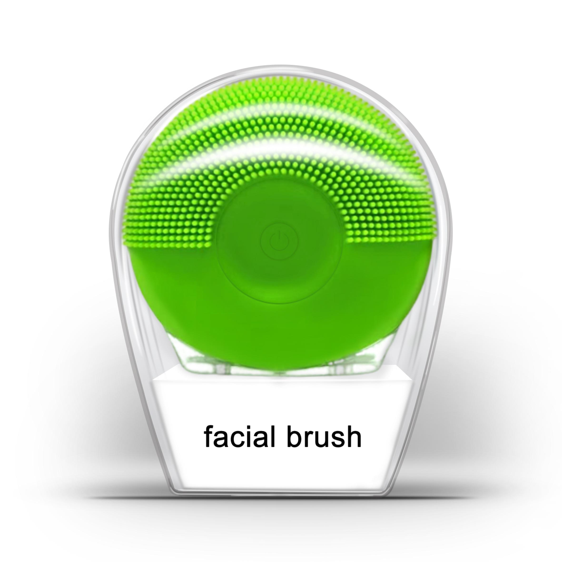 Popular Ultrasonic Face Washing Device Foreos Luna Mini 2 USB Charging Facial Cleansing Brush