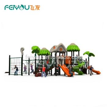 Plastic Outdoor Playground Backyard