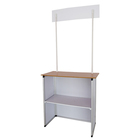 promotion counter/folding screen