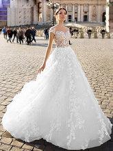SODigne кружевное свадебное платье в стиле бохо 2020 а линия невесты платья элегантные и сказочные свадебные платья на заказ сделанные Свадебные...(Китай)