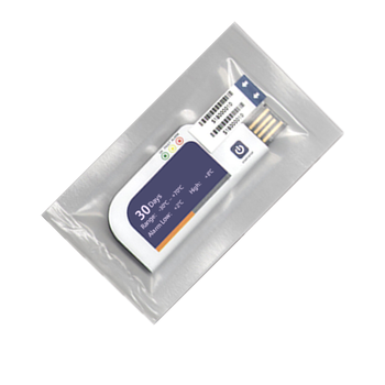 CSV PDF single use temperature humidity data logger Rohs Comply