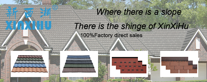XINXIHU New roofing materials roof shingle asphalt kerala