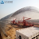 Coal Shed Coal Storage Building Steel Space Frame Coal Storage Shed Building Structure