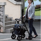 Lightweight And Rollator Evolution Trillium Lightweight Medical Walker Rollator With Seat And Brakes