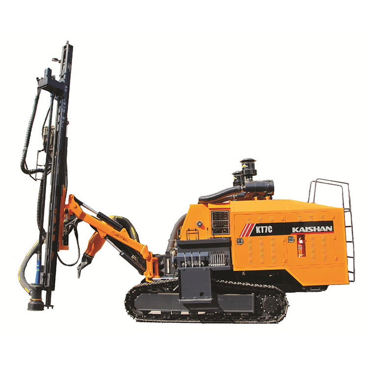 KT8C Integrated with 17bar Air Compressor Hydraulic Borehole Drilling Machine Price