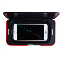 Wireless charging UV Sterilizer Box Mobile Phone Sanitizer Case UV Disinfector Sterilizer for Cell Phone and Watch