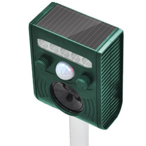 Solar Licht Pest Repellent für gärten, Tier repeller ultraschall solar betriebene wasserdichte mole pest repeller