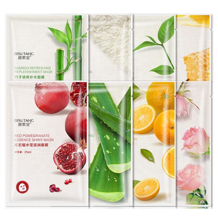 Oem Private Label Plant Extract Hydraterende Anti Aging Collageen Masker Huidverzorging Hydraterende Koreaanse Vel Facial Gezichtsmasker