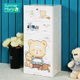 Cartoon Multi-layer Plastic Baby Storage Drawer Cabinet With Lock