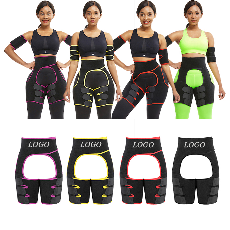 Lover-Beauty Private Label Neoprene Thighhighs Body Shaper Waist Trainer Belt Slimming
