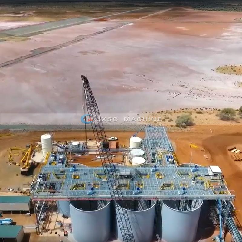 Китай производитель КСС завод золото выщелачивающий резервуар минеральной обработки проект EPC сервис установки для добычи полезных ископаемых