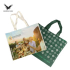 Recycled Non Woven Bag Rpet Bag Recycled Customized Manufacturer Grocery Tote Recycled Shopping RPET Non Woven Bag