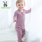 Glory Baby Rompers zipper romper organic cotton baby clothes pajamas wholesale