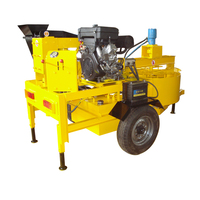 Brand New Brick Force Making Mobile Interlocking Stabilized Soil Block Machine