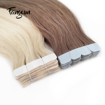 2020 New 100% Remy Human Hair Straight Tape Hair Extensions Hair Extension