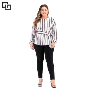 Women Daily Fashion Long Sleeves Plus Size Top Clothes