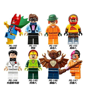 KF6097 Collection Super Heroes Mini Legoes Captain American brick Pepper Iron Figures Spider-Man Building Blocks Toys
