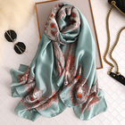 Low Price Scarf Factory Sale Various Durable Using Low Price Vintage Twill Genuine Silk Scarf