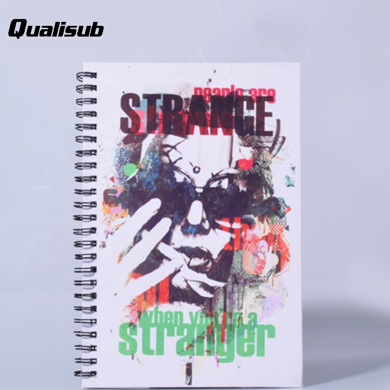 Factory Price A5 Size Sublimation Notebook with Spiral Coils
