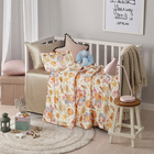 Children'S Baby Bedding 100% Silk Printed Sheet Set
