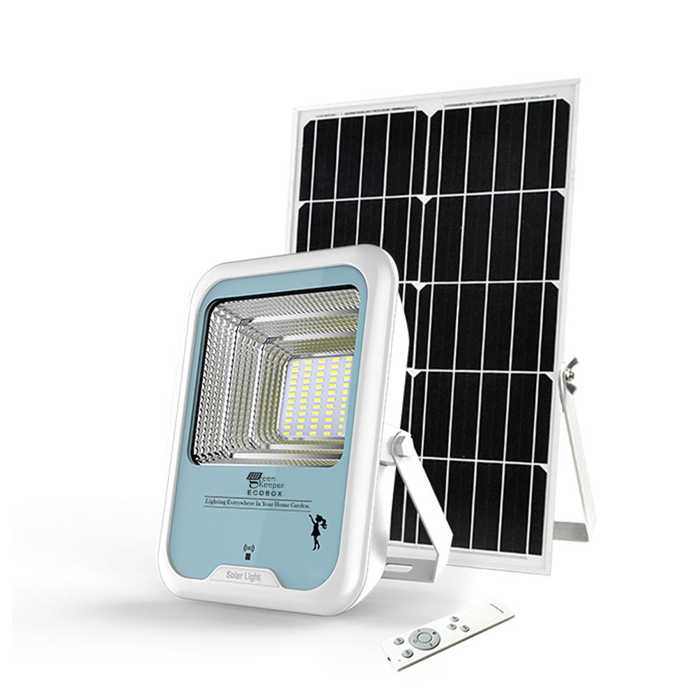 Wall flood 48w light smart motion sensor waterproof solar light