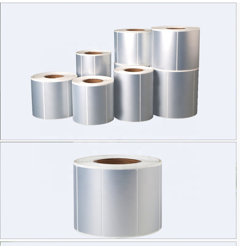 Hot sale blank white direct thermal shipping label  4 inch x 6 inch and various specifications 1000pcs per rolls