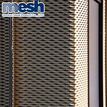 Decorative sheets metal panel / decorative expanded metal sheet