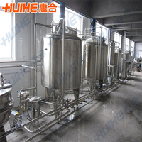 Small 2000L/day pasteurized milking line UHT milking line Dairy Processing production line