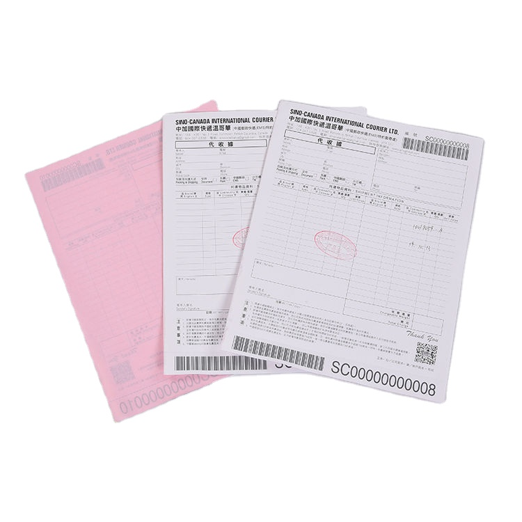 Factory Customizable Printing Wholesale Stationery Office Carbonless Ncr Paper Continues Form