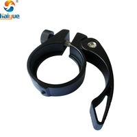 MTB 40mm Bike Seat Post Clamp Anti-Skid Fixed Aluminum Alloy Bicycle Seat Clamp