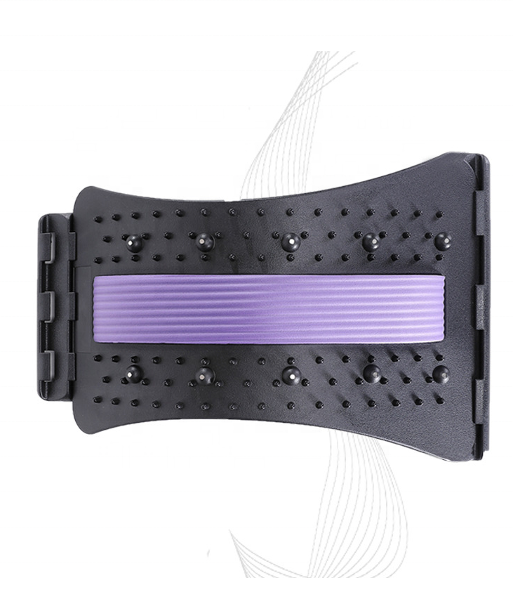 Magnetic therapy back stretcher arched back lumbar <strong>massager</strong>