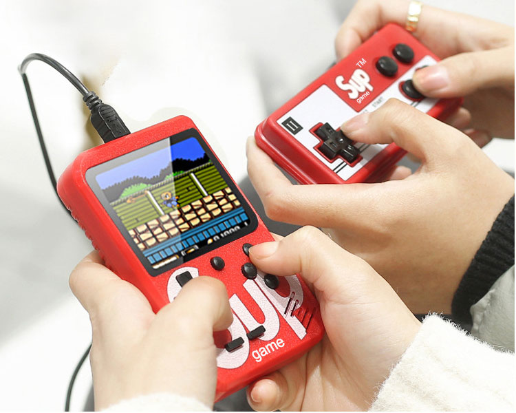 Portable 8 Bit Retro Video Game Console Built In 400 Games Handheld Game Conosle Player Sup Game Player