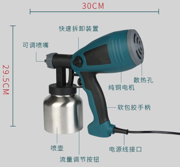 China Fabrik preis elektrische spray farbe beschichtungen gun für verkauf