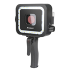 SHOOT 40M 900LM Underwater LED Video Light for GoPro Hero 7 6 5 Black Waterproof Diving Flash Lighting Fill in Lamp + Red Filter