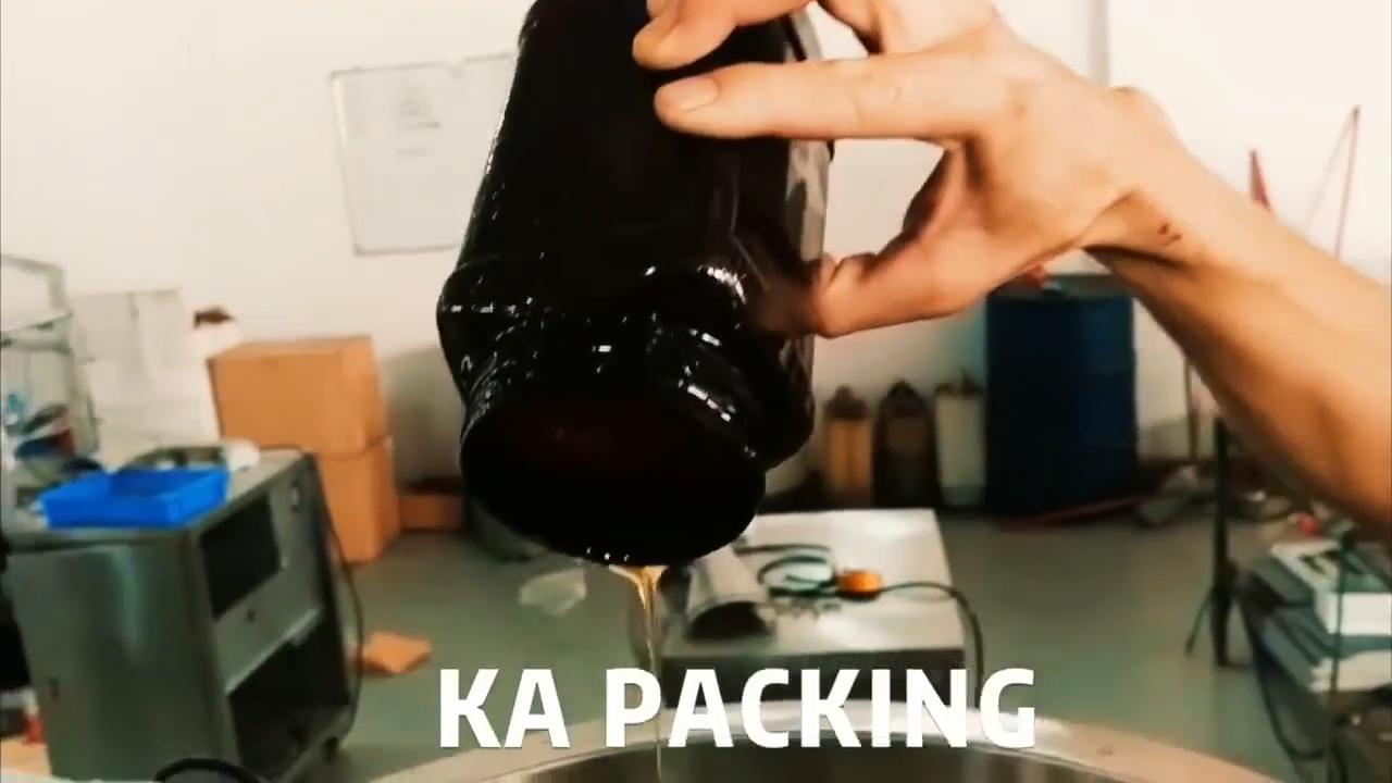 KA 포장 저비용 자동 작은 액체 주머니 포장 기계 20-200ml 작은 생산
