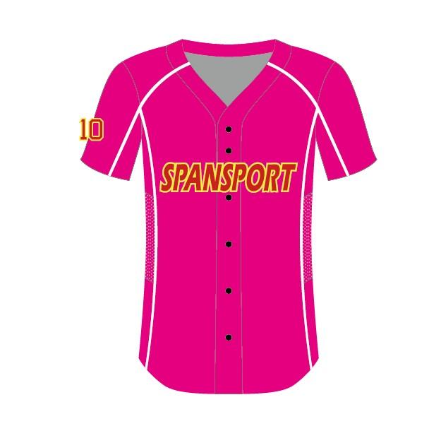 Encuentre el mejor fabricante de camisa beisbolera chica y