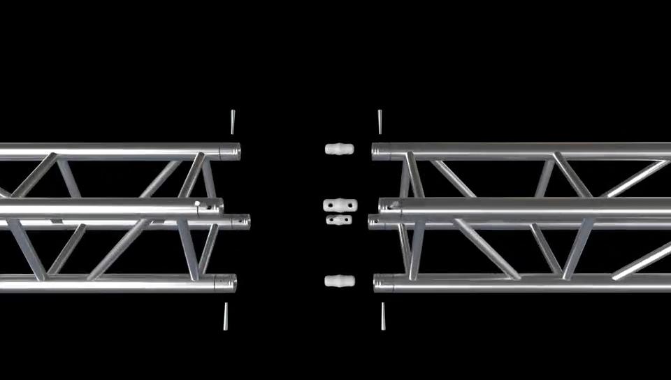 אלומיניום רב חיבור רז פינת תיבת רמקול מערכת מסבך מסבך