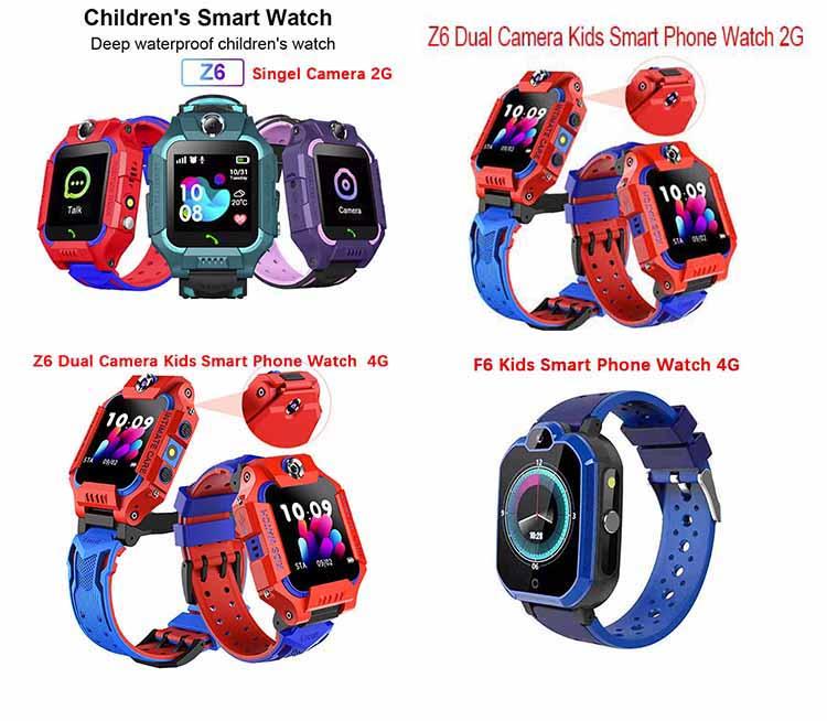 Factory Supply Waterproof SOS Anti-lost Smartwatch Baby SIM Card Clock Call Location Tracker Kids Smart children Watches