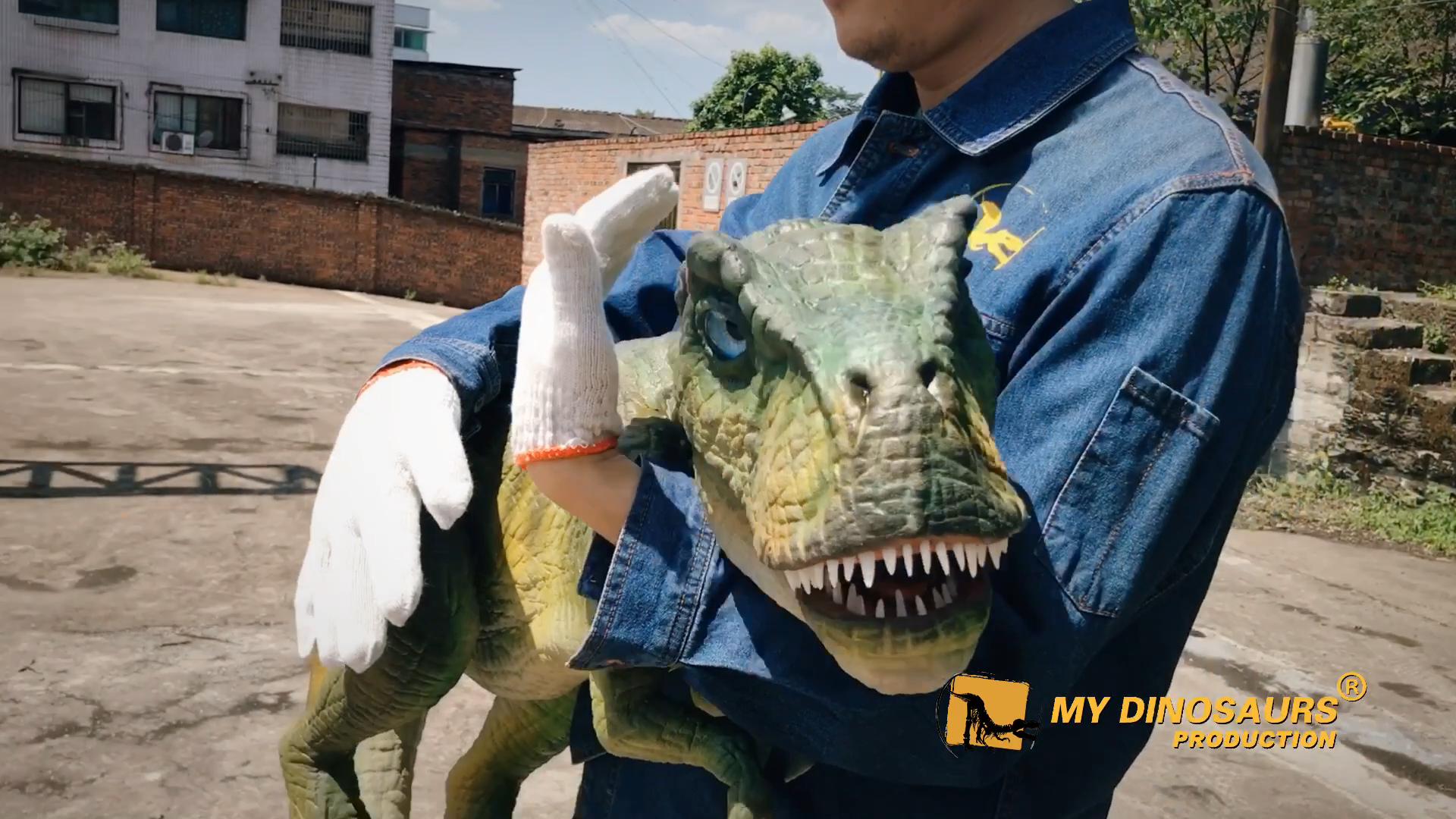 Benim Dino HP135 dinozor çocuklar için hareketli ağız dinozor kukla