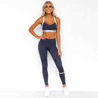 2 Piece Set Workout Clothes for Women Sports Bra and Leggings Set Sports Gym Wear for Women Gym Clothing Athletic Yoga Set