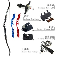 F155 take down target shooting recurve bow